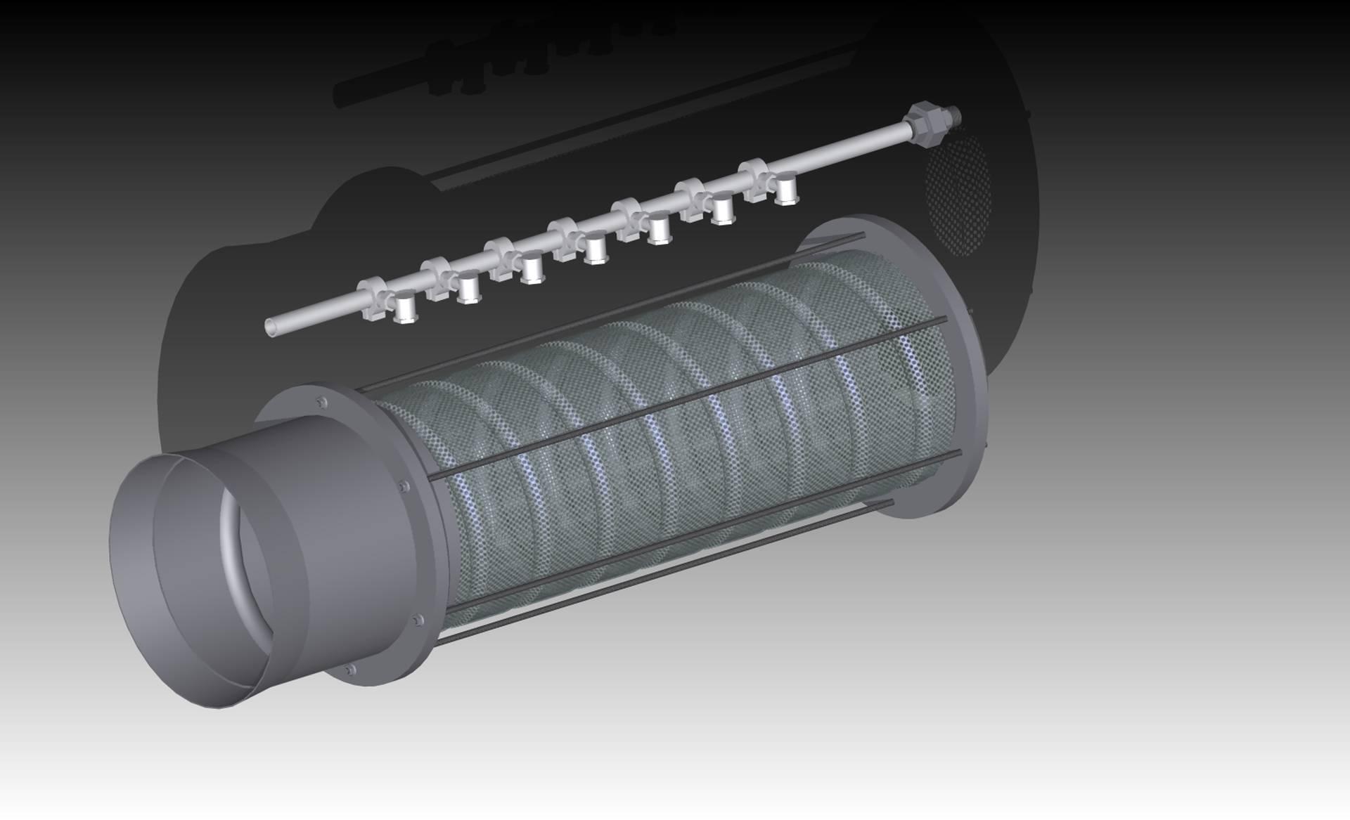 FR25 - filtro e distributore